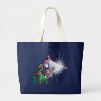 Grand Tote Bag MAGI WISEMEN et ÉTOILE par SHARON SHARPE