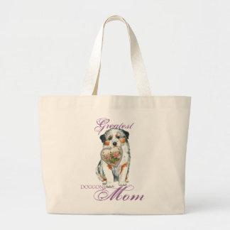 Grand Tote Bag Maman australienne de coeur