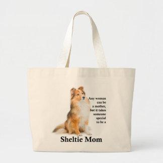 Grand Tote Bag Maman Fourre-tout de Sheltie