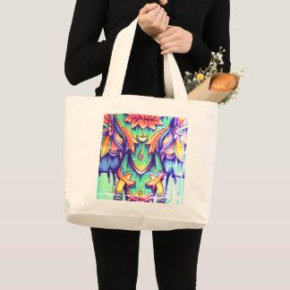 Grand Tote Bag Mandala FOURRE-TOUT d'éléphant de STREGNTH