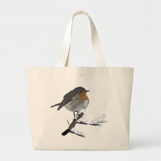 Grand Tote Bag merle rouge #2