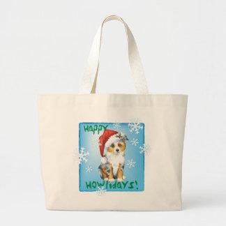 Grand Tote Bag Mini berger américain heureux de Howlidays