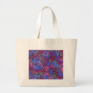 Grand Tote Bag Motif artistique 5 de lézards