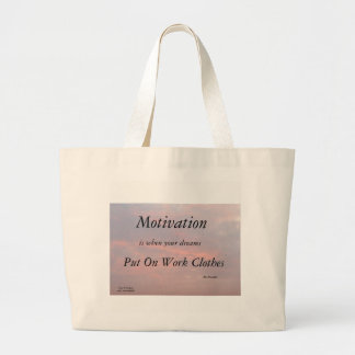 GRAND TOTE BAG MOTIVATION-BEN FRANKLIN FOURRE-TOUT