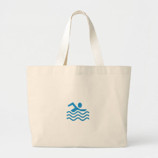 Grand Tote Bag Nageur 101 de bain de succès de natation du