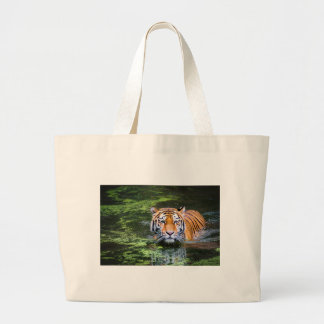Grand Tote Bag Natation de tigre