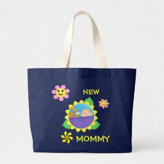 Grand Tote Bag Nouvelles maman/maman