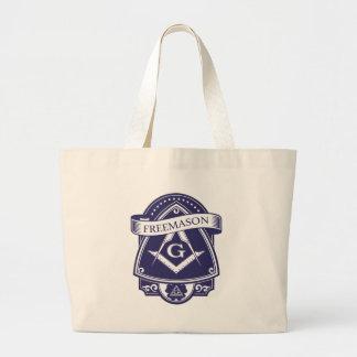 Grand Tote Bag Oeil Tout-voyant d'Illuninati de franc-maçon