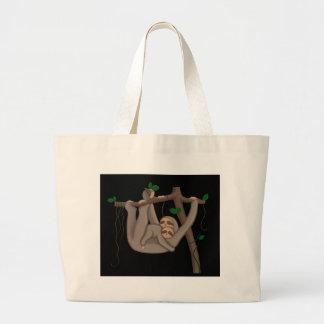 Grand Tote Bag Paresse mignonne