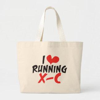 Grand Tote Bag Pays XC croisé fonctionnant du coeur I (amour)