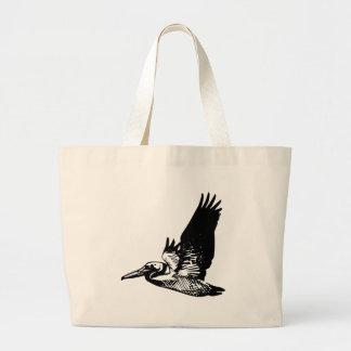 Grand Tote Bag Pélican de vol
