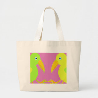 Grand Tote Bag Perroquets