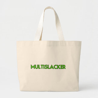 Grand Tote Bag Personne de Multislacker qui n'obtient beaucoup de