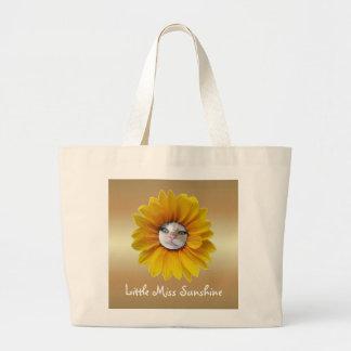 Grand Tote Bag Petite Mlle Sunshine Smiling Cat