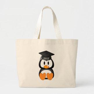 Grand Tote Bag Pingouin d'obtention du diplôme