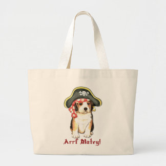 Grand Tote Bag Pirate de beagle