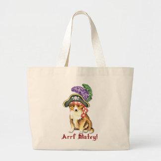 Grand Tote Bag Pirate de Sheltie