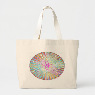 Grand Tote Bag Puissance d'âme : Conception artistique à énergie