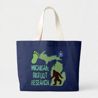 Grand Tote Bag Recherche du Michigan Bigfoot