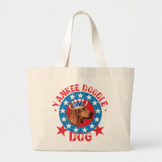 Grand Tote Bag Redbone patriotique