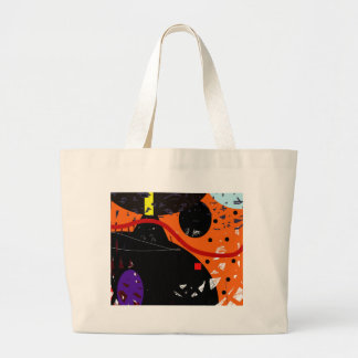 Grand Tote Bag Rêve orange
