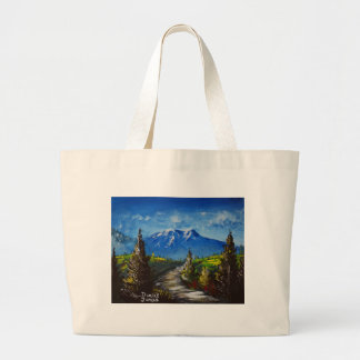 Grand Tote Bag Route de montagne