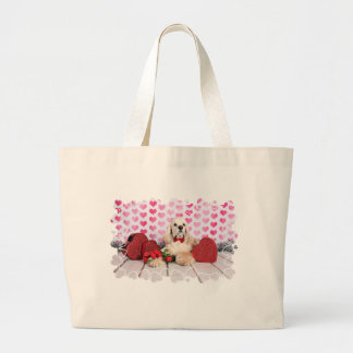 Grand Tote Bag Saint-Valentin - Tobey - cocker