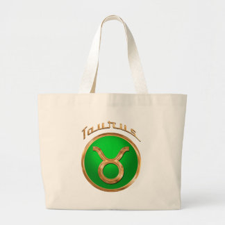 Grand Tote Bag Signe astrologique de Taureau