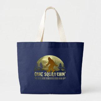 Grand Tote Bag Squatchin allé
