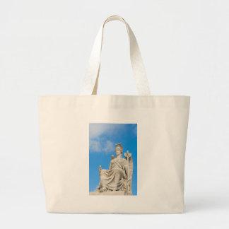 Grand Tote Bag Statue d'une reine