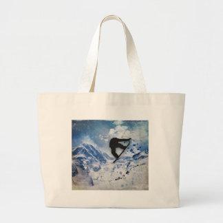 Grand Tote Bag Surfeur en vol