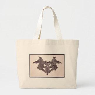 Grand Tote Bag Tache d'encre 1,0 de Rorschach