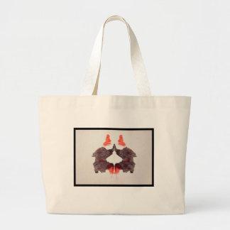 Grand Tote Bag Tache d'encre 2,0 de Rorschach