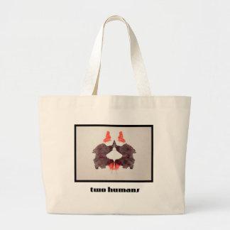 Grand Tote Bag Tache d'encre 2 de Rorschach