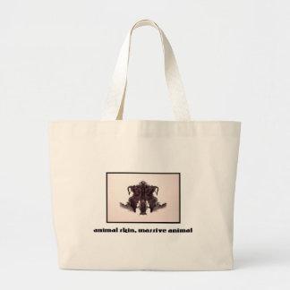 Grand Tote Bag Tache d'encre 4 de Rorschach