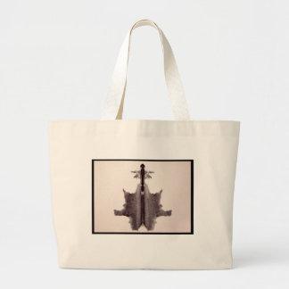 Grand Tote Bag Tache d'encre 6,0 de Rorschach