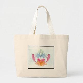 Grand Tote Bag Tache d'encre 8,0 de Rorschach