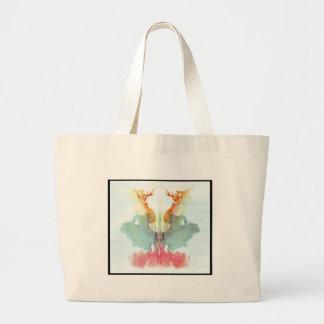 Grand Tote Bag Tache d'encre 9,0 de Rorschach