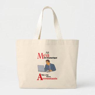Grand Tote Bag Tous les hommes sont égal créé alors que quelques