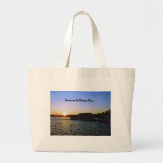 Grand Tote Bag Un lever de soleil dans Bradenton la Floride