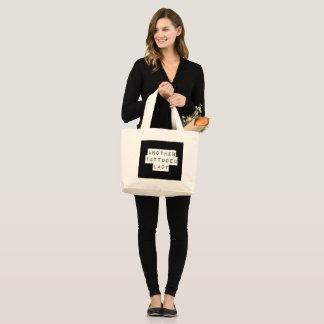 Grand Tote Bag Une autre Madame tatouée Fourre-tout