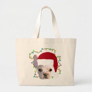 Grand Tote Bag Vacances Frenchie