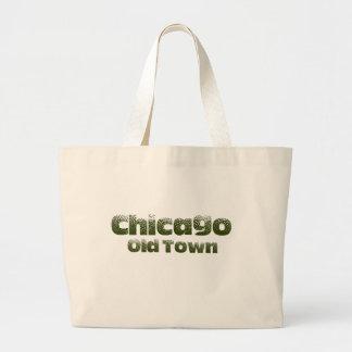 Grand Tote Bag Vieil éléphant Fourre-tout de Chicago de ville
