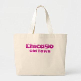 Grand Tote Bag Vieil éléphant Fourre-tout de plage de Chicago de