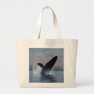 Grand Tote Bag violation de baleine de bosse