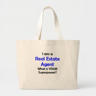 Grand Tote Bag vrai agent immobilier