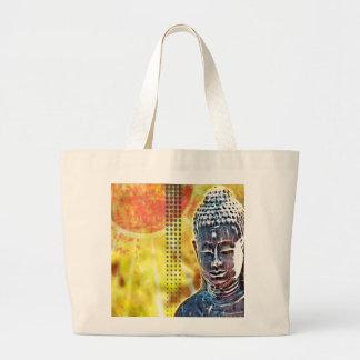 Grand Tote Bag Zen spirituel Bouddha de nouvelle d'âge méditation