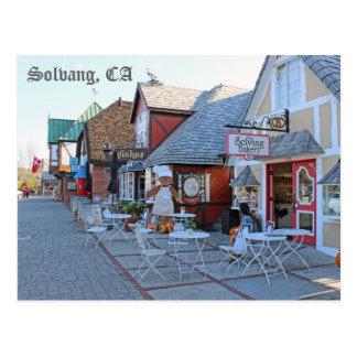 Grande carte postale de Solvang !