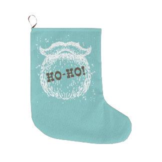 Grande Chaussette De Noël Ho-Ho vacances Père Noël Noel de Noël