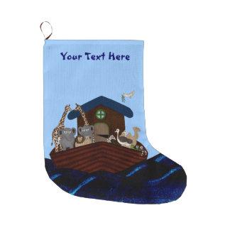Grande Chaussette De Noël L'arche de Noé